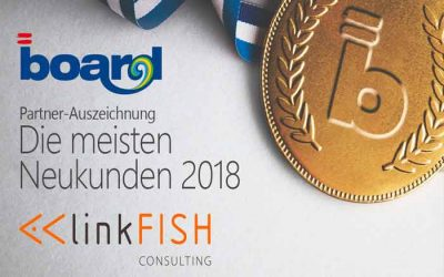 linkFISH bekommt BOARD Award  2018 verliehen